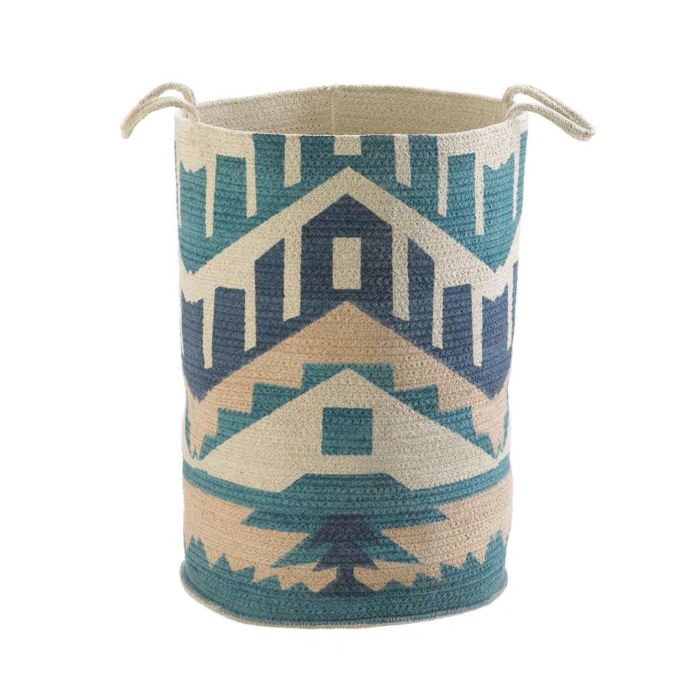 SANTA FE CANVAS BASKET