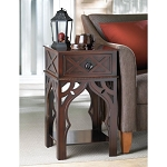 MOROCCAN-STYLE SIDE TABLE - NIGHTSTANDS