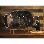 CASK WINE BOTTLE RACK - KITCHENWARE