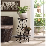 HOURGLASS TRIPLE PLANT STAND - LAWN & GARDEN
