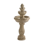 Outdoor Indoor Cascading Waterfall - 4 TIER WATER FOUNTAIN GARDEN DECOR
