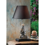 Thai BUDDHA meditation ZEN STATUE bedside end Table Lamp night
