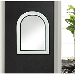 MIRROR  BICOCCA WALL MIRROR WITH BLACK TRIM