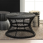 EDEL POLYRATTAN COFFEE TABLE INDOOR /OUTDOOR