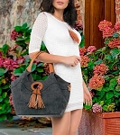 HANDBAG GEMMA BLACK