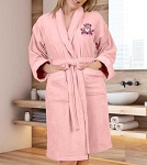 BATHROBE PEACH