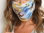 MASK FACE AESTHETIC PRINT REUSABLE FACE MASK FOR ADULT/10PCS